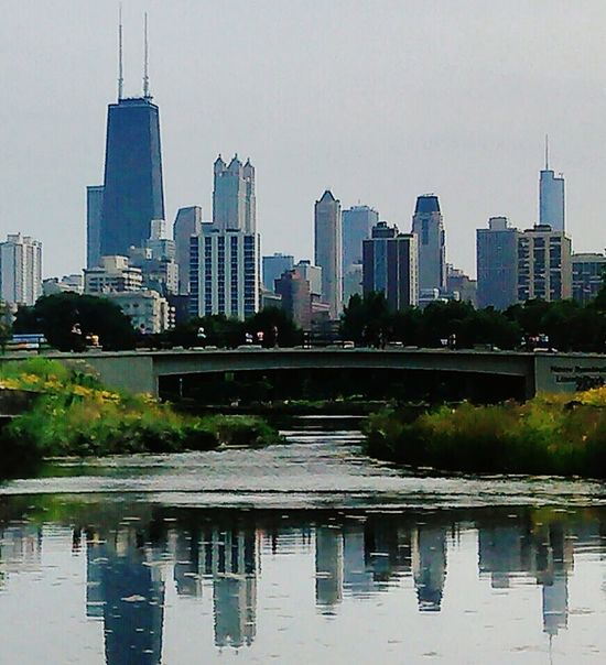 Nature boardwalk,chicago Nature On Your Doorstep Chicago Cityscapes Water Reflections John Hancock Building Lincoln Park City Skyline Chicago Skyline Chicago's Skyline
