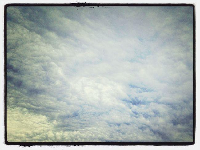 Sky Taking Photos CloudsCloudsClouds