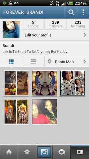 Follow Me On IG I Just Made It &nd Need More Followers..I Will Follow Back