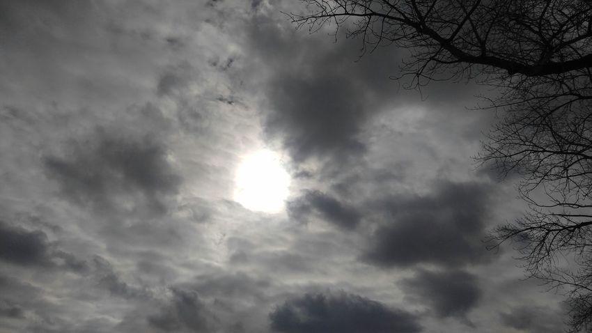 Hole In The Sky Clouds Sunshine ☀ Unedited Ogden Utah