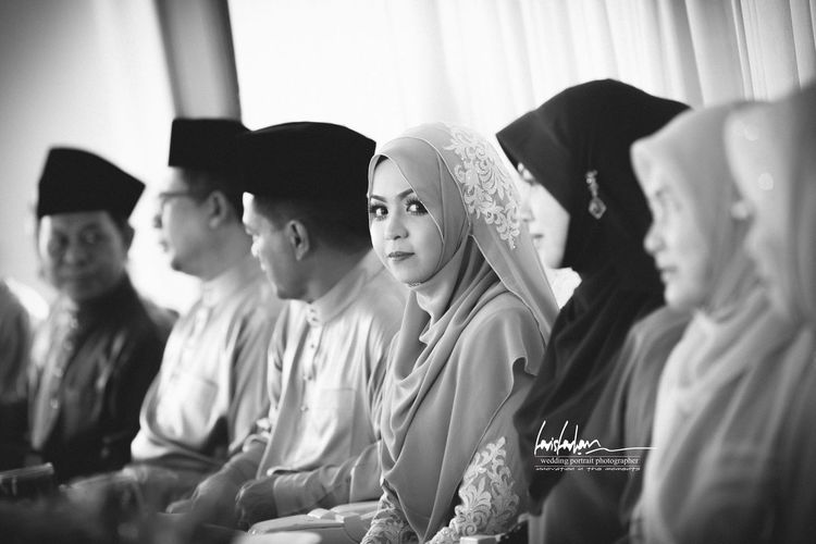 """Wedding of the year"".. Minister of Umno Jerteh Terengganu .. MBTerengganu Wedding Photography Portrait"