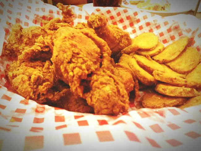 Dinner~ Shakey'spizzaparlor Fried Chicken Mojos Yummy Foodphotography
