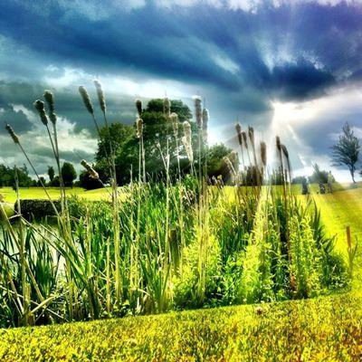 #sun #lake #ray #golf Sun Golf HDR Sunlight Ireland Lake Flare Rays Ray 50likes 60likes Alaniskogolf Alaniskofav