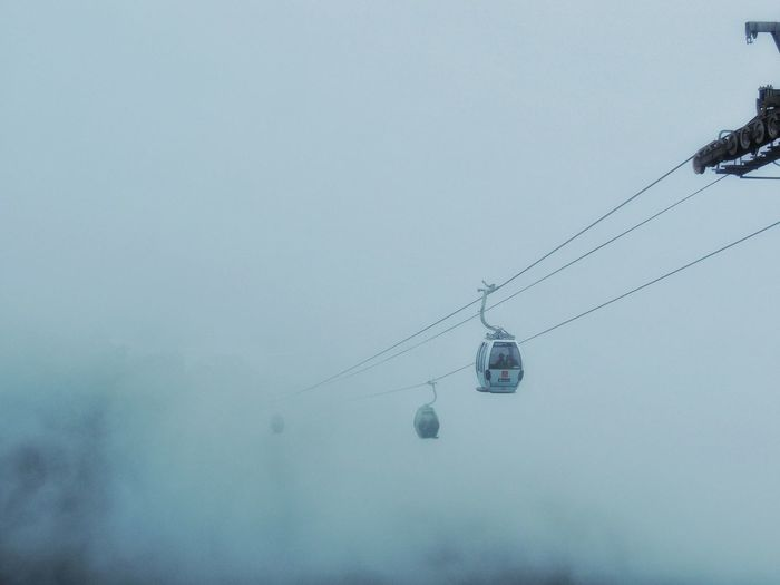 Cable car Fog
