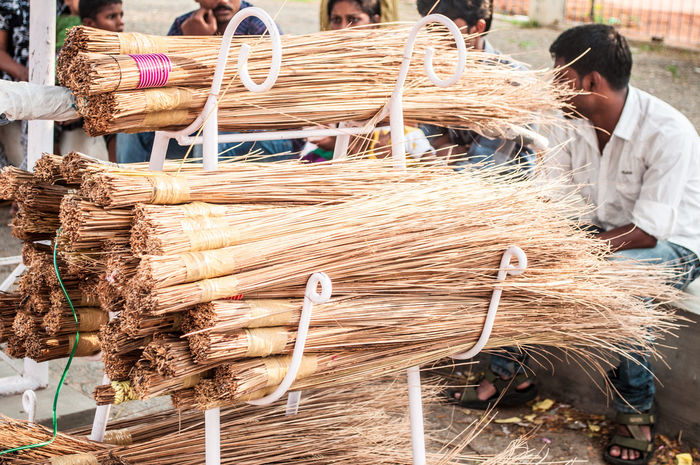 Brooms  Cleaning India Indian Brooms Indians  Kerala Scope Scope Indiane Tempio Temple