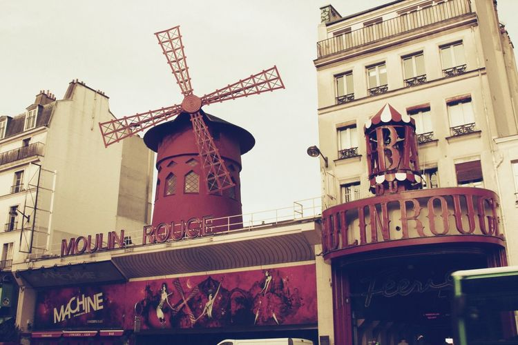 Montmartre Laviewasrose Moulin Rouge Paris