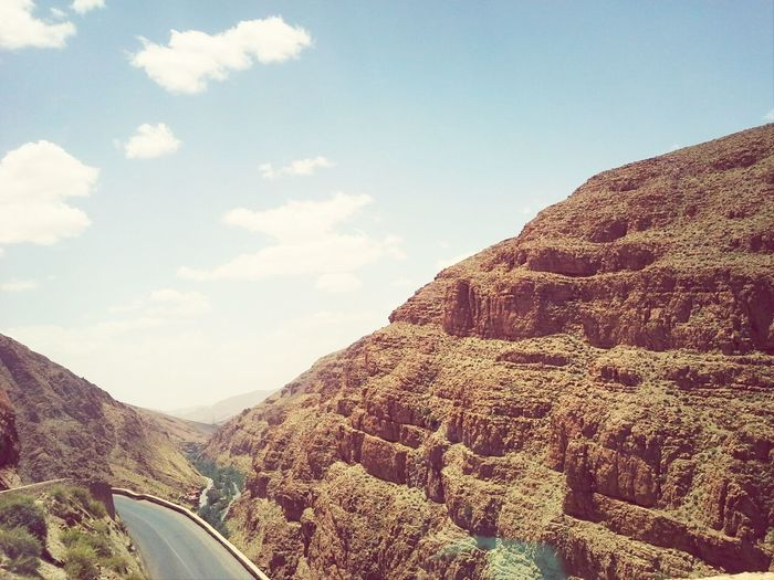 Trip to the south of my beautiful country, Morocco ! ♥♡ Mountain View Mountain Nature Sunnyday