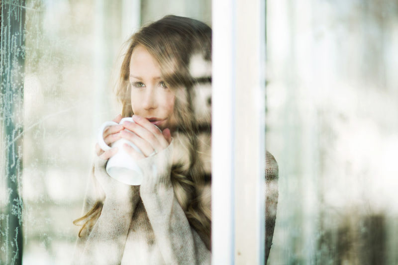 Adult Adults Only Beautiful Woman Beauty Close-up Day Fragility Human Body Part Human Hand Indoors  Looking Through Window One Person One Woman Only One Young Woman Only Only Women People Real People Reflection Standing Window Women Young Adult Young Women