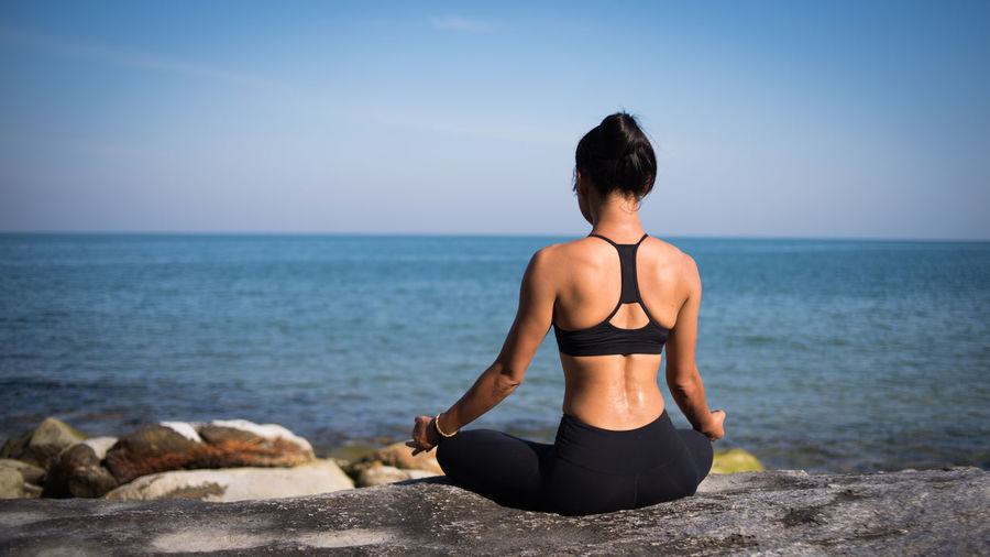 Asian  Yoga Yoga Pose