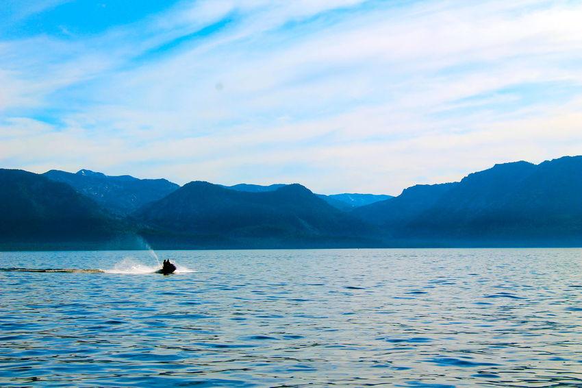 Lakin'. Jet Ski Lake Lake Tahoe California Action Water Watersports Jetskiing Nature Outdoors Mountains Scenery Photography In Motion