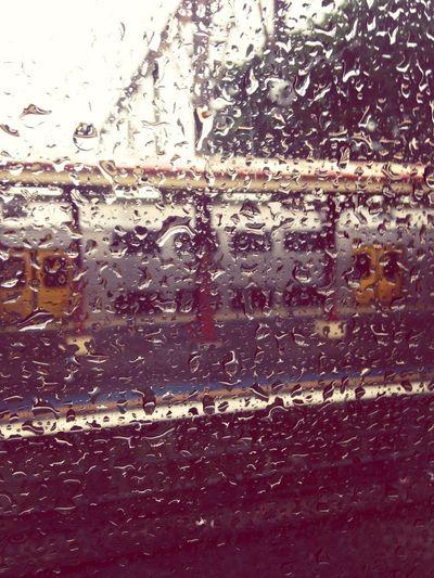 Rainy Day On The Train