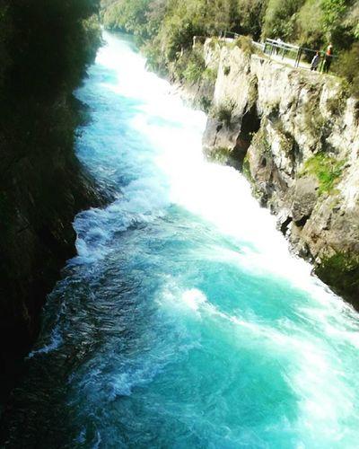 Hukafalls Water Nature NZ Aotearoa Newzealand Scenic Twc_vanishingpoint