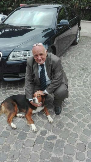 Io e il mio amico cane