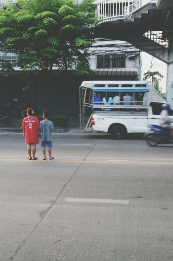 Beware Careful Becareful Mom Son Bangkok City Thailand_allshots