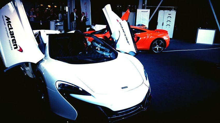 Motor Show Poznań Cars McLaren