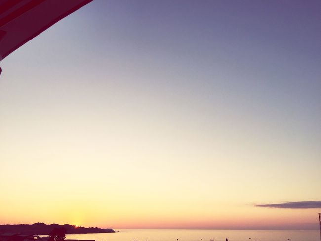 Se va el día... Sky Sunset Scenics - Nature Beauty In Nature Water Tranquility Orange Color