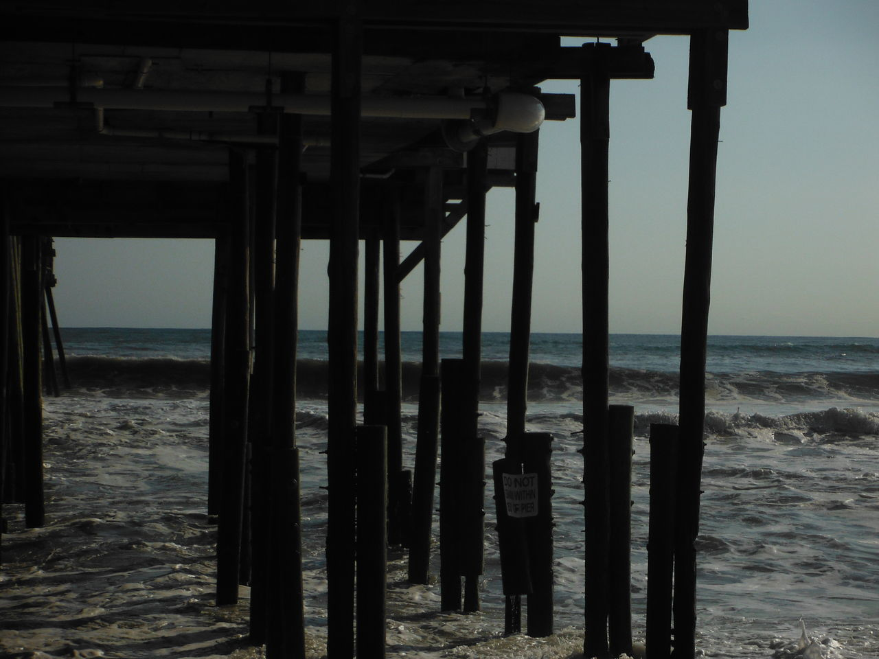 sea, water, strength, horizon over water, beach, nature, underneath, no people, outdoors, sky, day