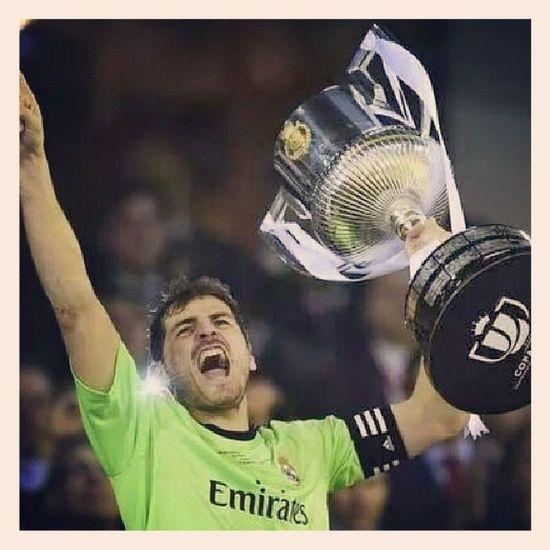 Champions Copadelray Campione Iker Son Casillas