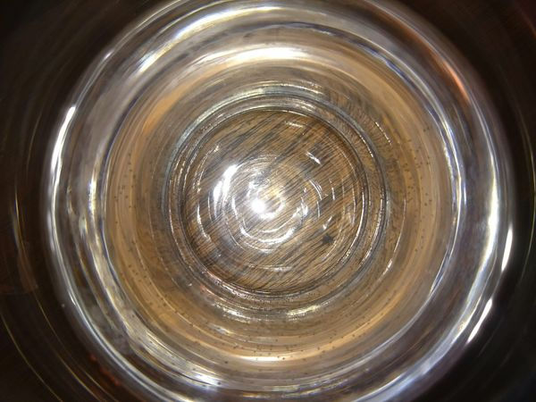 My glass is always 2/3 full Concentric Indoors  No People Nature Close-up Glass Cup Wood Water Tunnelvision Bottom Spin Check This Out