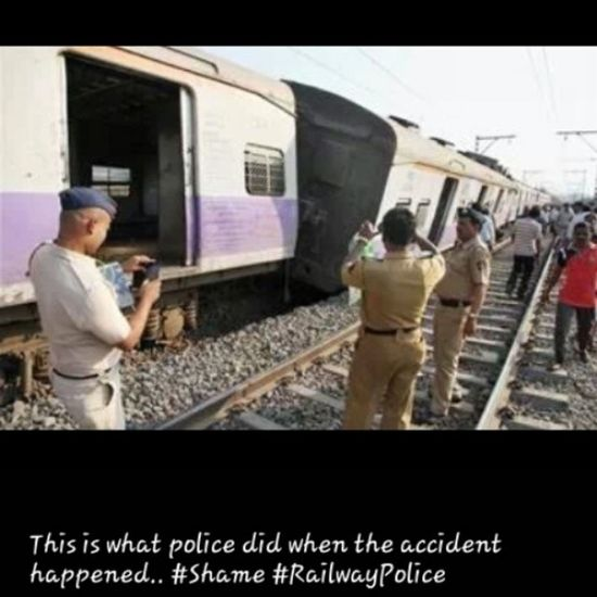 This Is Wht Police did after the accident instashare no mercy for police a complite negligence