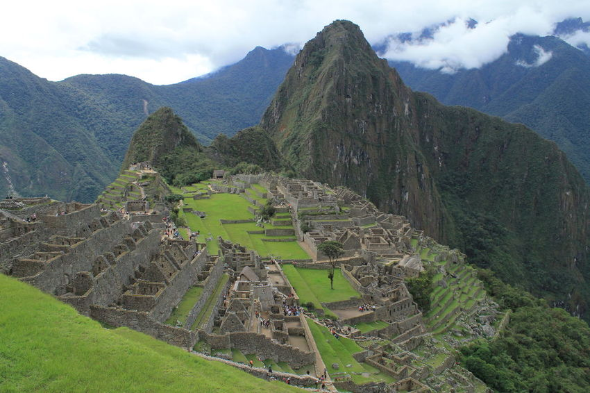 Macchu Picchu Peru Ancient Ancient Civilization Archaeology History Mountain Mountain Range Nature Old Ruin The Past Travel Destinations