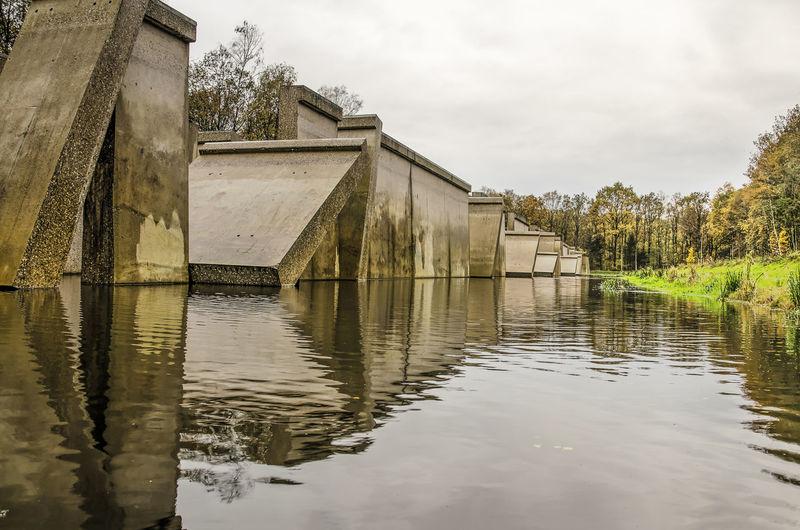 Monumental test facility in former dutch hydraulogy laboratory site