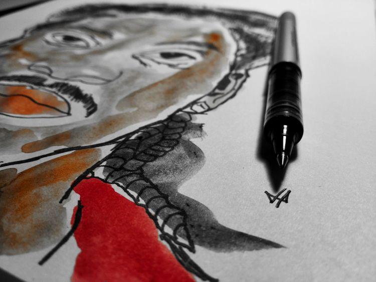 Projekt King Push by Limapix (Logo) Kingpush PushaT Drawing - Art Product Hıphop Hiphopmusic Hiphoplife HipHop ArtWork Aquarelle WaterColorCollection Art, Drawing, Creativity Drawing - Activity Watercolors  Watercolor Painting Aquarell Art Art Gallery Watercolor Art And Craft Watercolorpainting