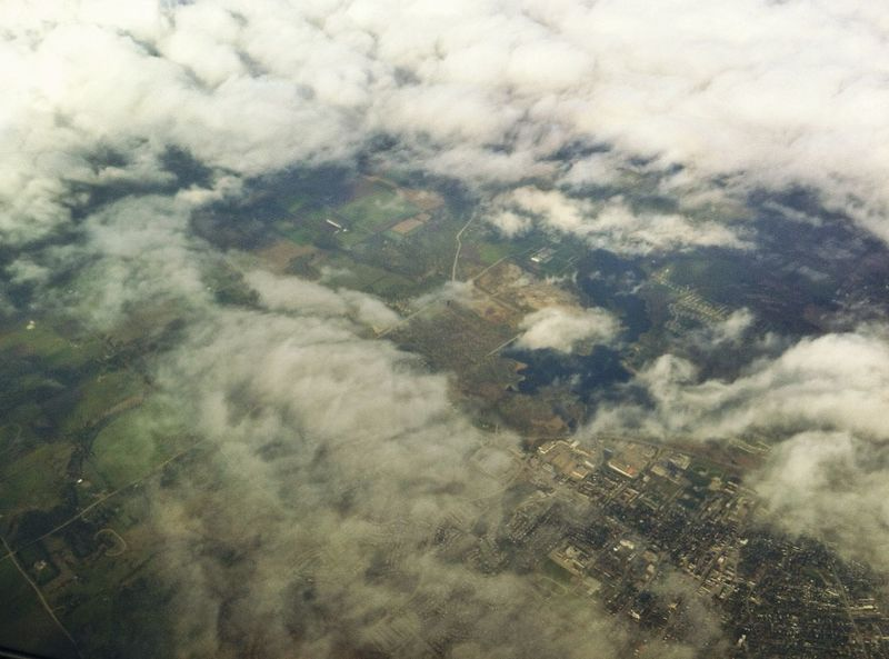 Arial Birds Eye View Clouds Clouds And Sky