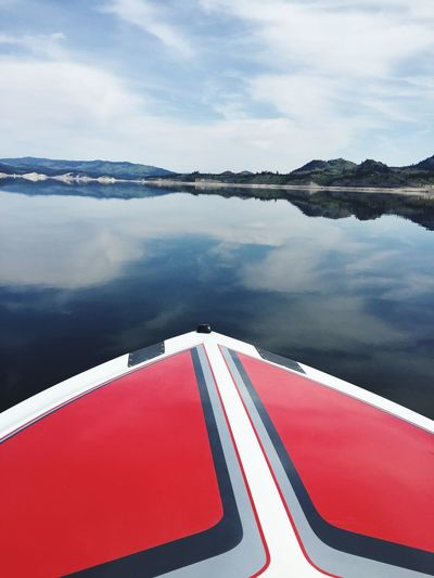 Boating Lake Roosevelt Water Sky Nature