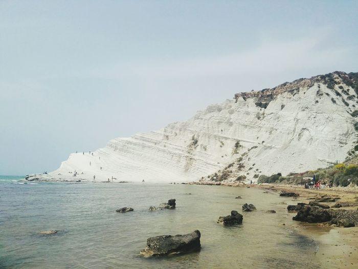 scalinata dei Turchi Eyemnaturelover Sicily Sicilia Italy Scalinata Dei Turchi Sea Beauty Beach Nautical Vessel Sand Rock - Object Summer Sand Dune Sandy Beach Rock Formation Geology