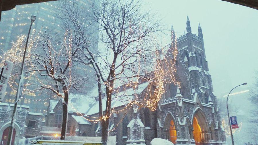Montreal, Canada Métro Bonaventure Eglise