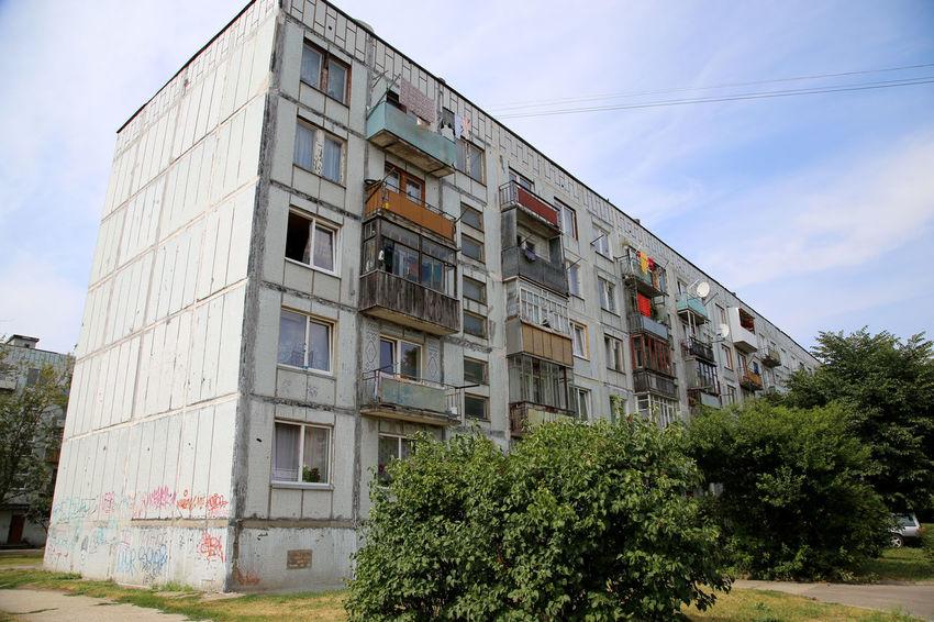 Apartment Cloud - Sky Karosta Karosta, Liepaja Old House Residential Building Residential Buildings Residential District