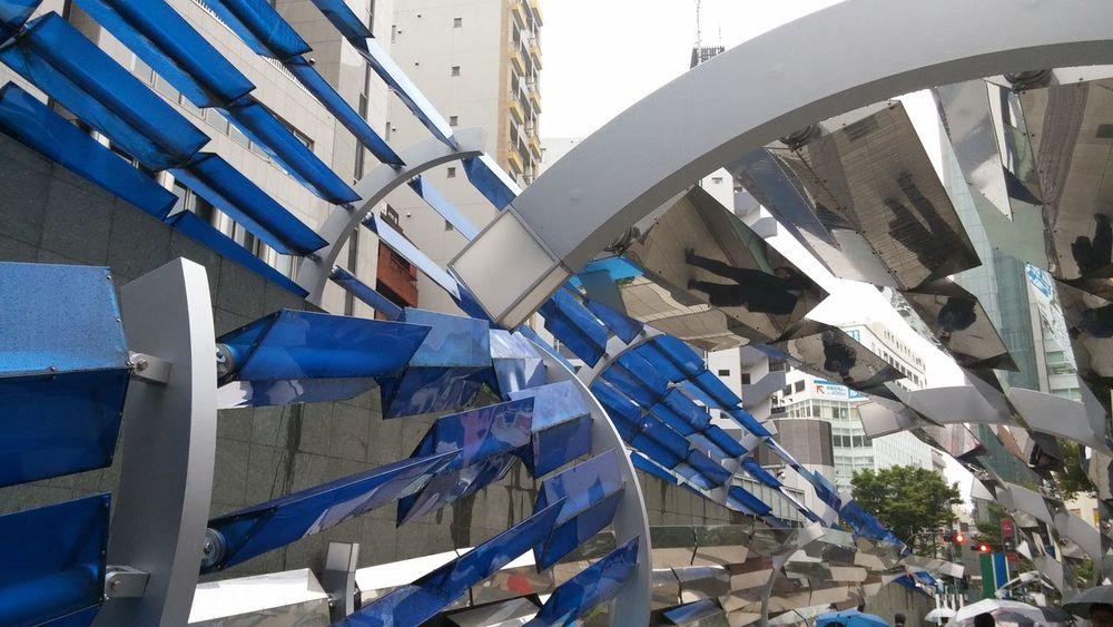 Monument 渋谷 雨 出張