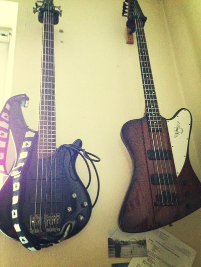 my basses all wrapped ip for the night Getting In Touch People Watching