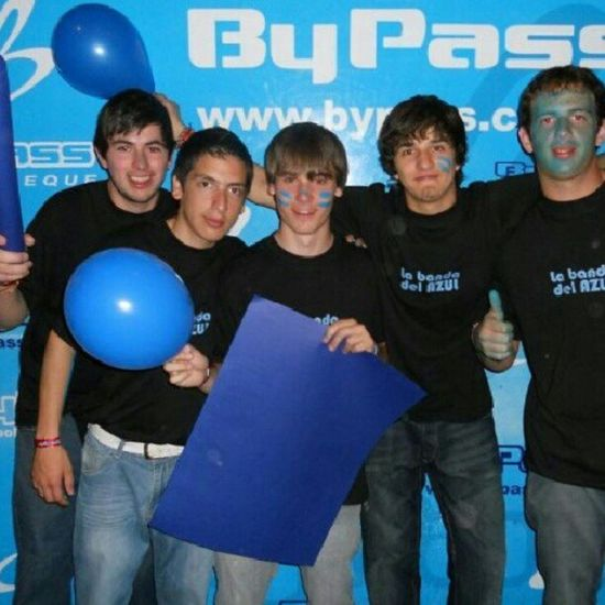 La banda del azul llegó o-o-eooo. FiestaDelEstudiante ByPass .