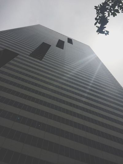 Skyscraper I Love You Look Up Being A Tourist HoustonTexasBaby