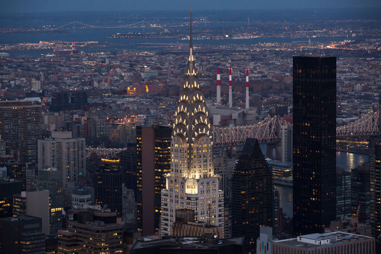 Chrysler Building New York City Architecture Building Exterior Built Structure City Cityscape Day Downtown District Illuminated Modern No People Outdoors Sky Skyscraper Travel Destinations Urban Skyline