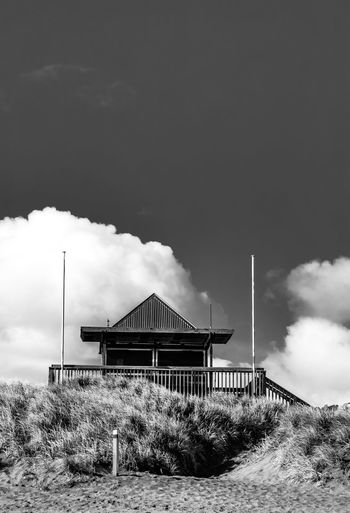 Muriwai beach Built Structure Architecture Sky Cloud - Sky Day Building Exterior Outdoors No People Plant Nature Tree Breathing Space
