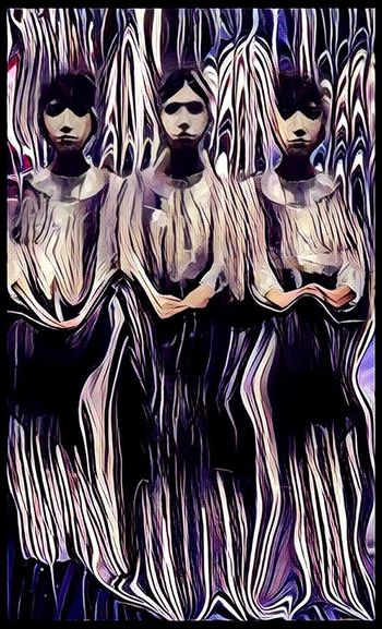 Sisters In House Of Mirrors Geometry Of Physiognomy Modern Working Model 8 Escapism Is The New Age Tourism Photographic Approximation