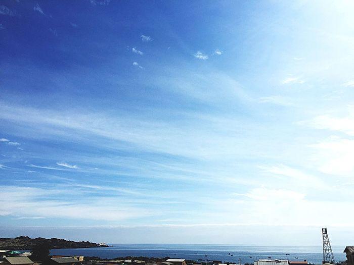 Balneario Flamenco y su cielo.. Sky Water Cloud - Sky Sea Beauty In Nature Scenics - Nature Nature