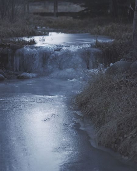 Peace like a river Water Nature Beauty In Nature No People Tranquility Tranquil Scene Outdoors Day Scenics Landscape Scenery River Winter Mood Vibes Winter Vibes Wintertime Frozen Cold Temperature