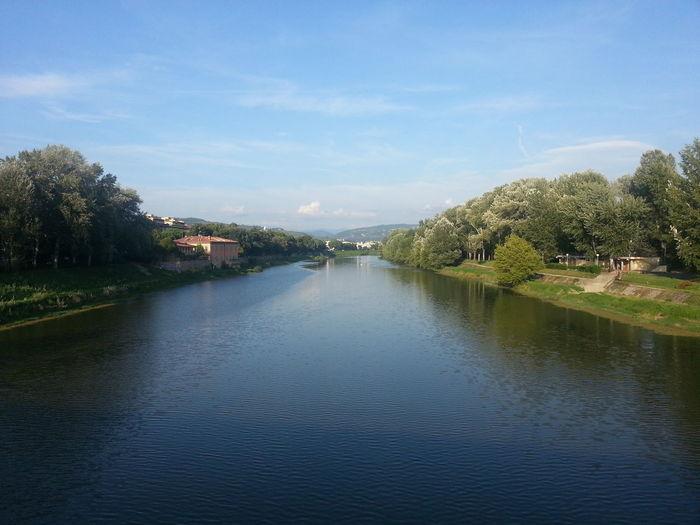 Firenze Fiume Arno Agosto Summer ☀