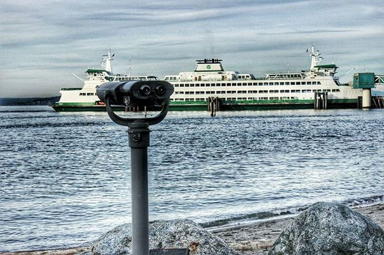 PNW Photography Edmonds Marina Boats Ferry Water Landscape Binoculars Pugetsound Upperleftusa Northwestisbest Igers_seattle Wsdotferry Wsdot Washingtonstateferries Petitteckelphoto