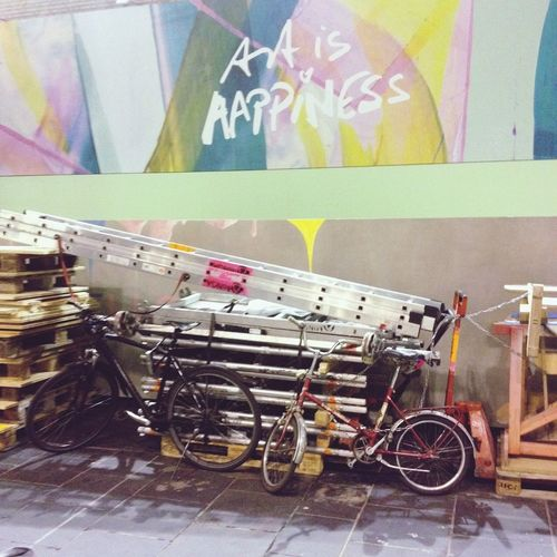 Art is happiness Art Bikes Construction Discovering Great Works