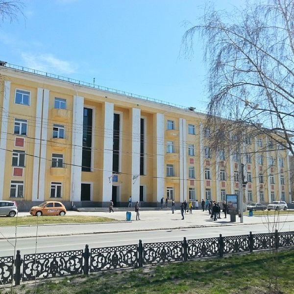 2014 -04-25, Новосибирск . Новосибирский авиационно-технический колледж / Novosibirsk . Aviation Technical College.