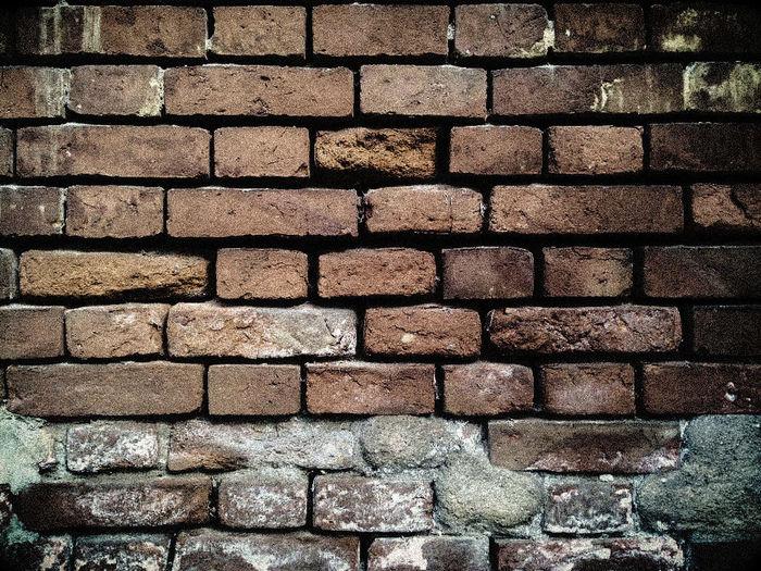 brick dark wall background Close-up