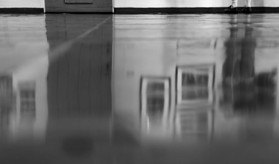 Reflection on a tile floor. Eyemphotography Photography Tucson Arizona  Surreptitious Night Thephotographer Black & White Monochrome Walking Around Reflection Floor Tile