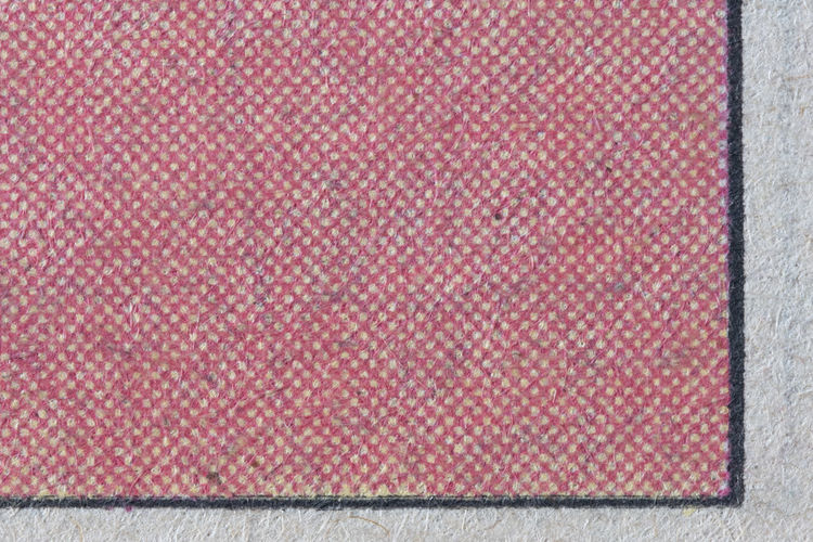 High angle view of pink fabric