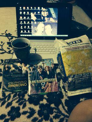 Noche de películas !! Enjoying Life