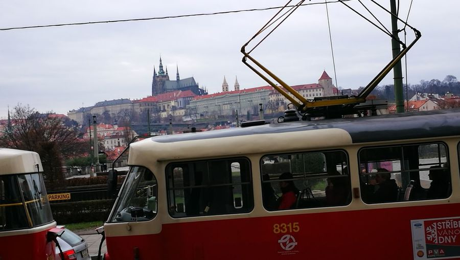 Prague City Tram Castle